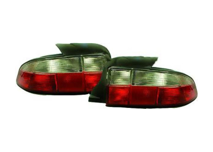 Back Rear Tail Lights Pair Set Red White For BMW Z3 Roadster 96-99 - 2