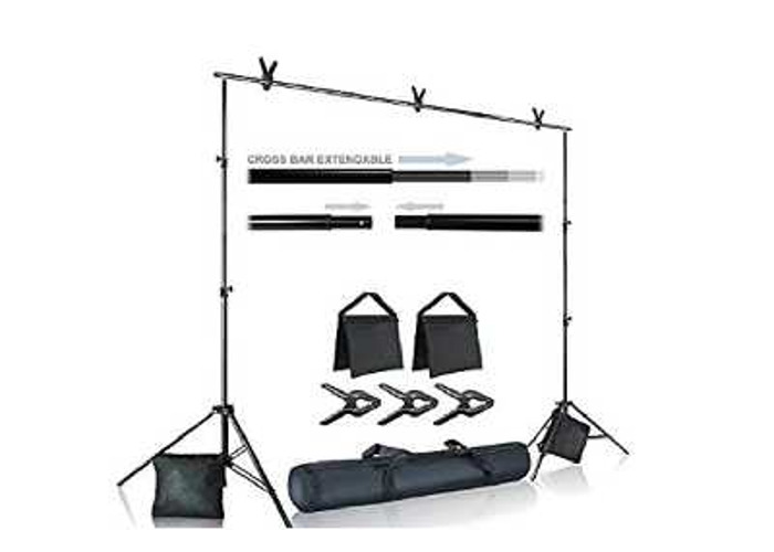 Backdrop stand with back drop - 1