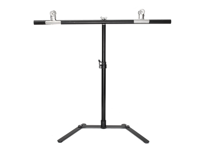 Background Stand Kit White Photo Studio Photography Backdrop Background With 2 Clips Setb - 1