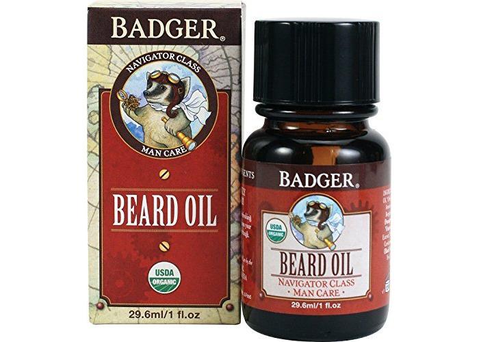 Badger Company, Beard Oil, Navigator Class, Man Care, 1 fl oz (29.6 ml) - 2