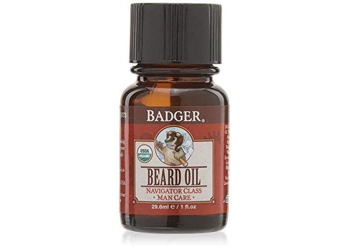 Badger Company, Beard Oil, Navigator Class, Man Care, 1 fl oz (29.6 ml) - 1