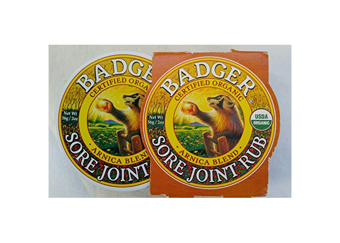 Badger Company, Sore Joint Rub, Arnica Blend, 2 oz (56 g) - 1