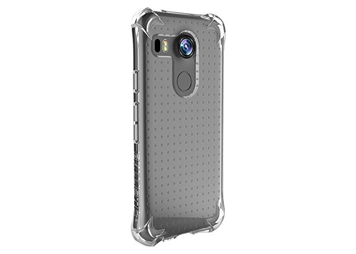 Ballistic Jewel Shell Case for LG Nexus 5X - Clear - 1