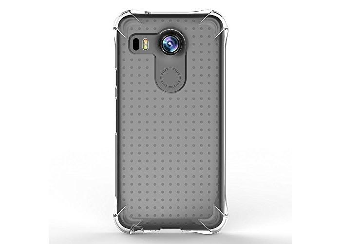 Ballistic Jewel Shell Case for LG Nexus 5X - Clear - 2