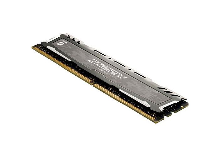 Ballistix Sport LT BLS16G4D240FSB 16 GB (DDR4, 2400 MT/s, PC4-19200, CL16, Dual Rank x8, DIMM, 288-Pin) Memory - Grey - 2