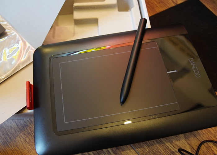 Bamboo Graphic Design Tablet Pen and Touch - 1
