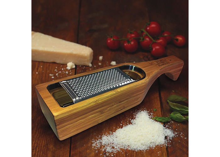 Bamboo Grater with Holder - 2