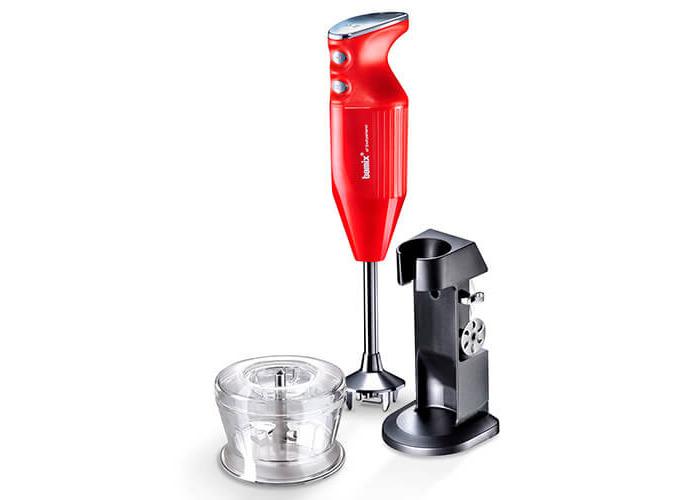 bamix Deluxe Hand Held Food Processor, 180 W, Red - 1