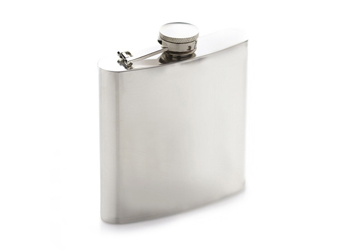 Bar Craft 170ml Stainless Steel Hip Flask - 1