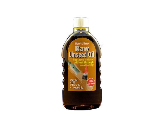 Bartoline 26444940 Raw Linseed Oil 500ml - 1