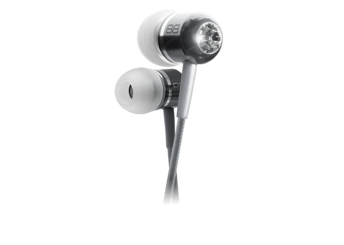 BassBuds Classic Collection In Ear Headphones - Platinum - 2