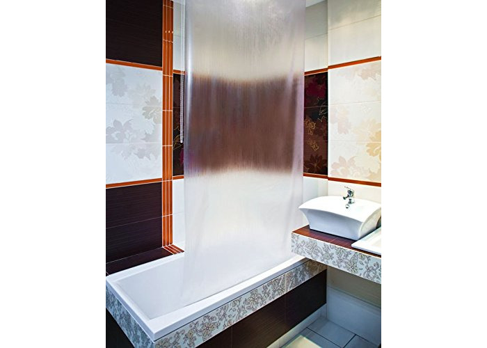 Bathroom Shower Curtain Roller Blind Extra Long, 4 Width Sizes, Simple (140 x 240CM) - 1