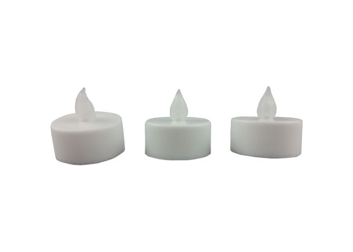 Battery Operated Flickering Tealight Candles Set of 3 - 1