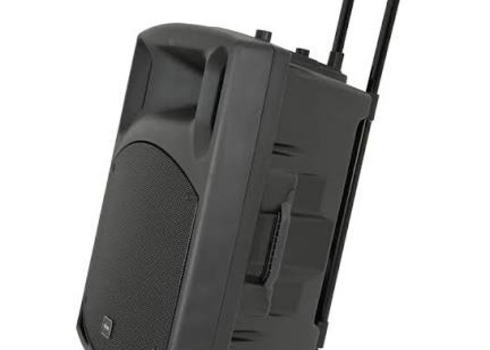 Portable Battery powered loud speaker pa system with mics - 1