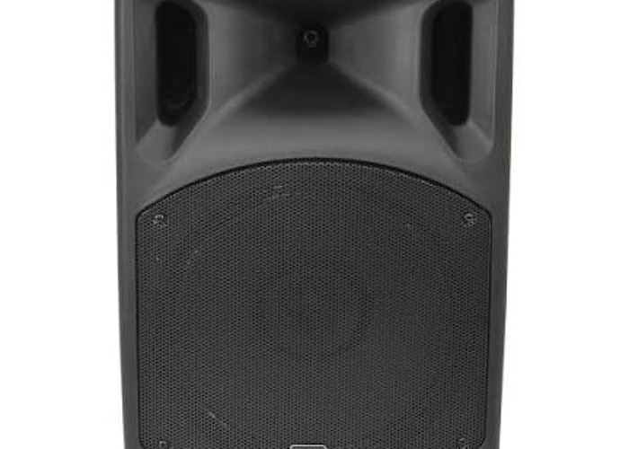 Portable Battery powered loud speaker pa system with mics - 2