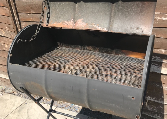 BBQ Charcoal Oil drum Grill, Event, Party's Party  - 2