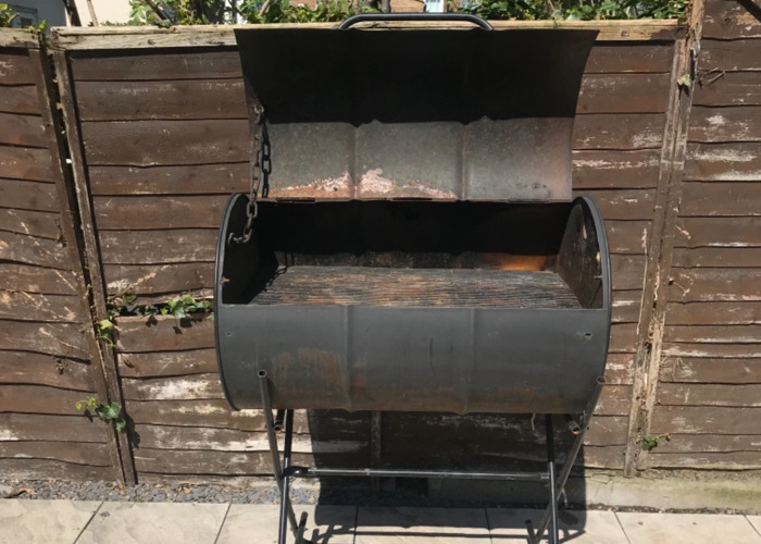 BBQ Charcoal Oil drum Grill, Event, Party's Party  - 1