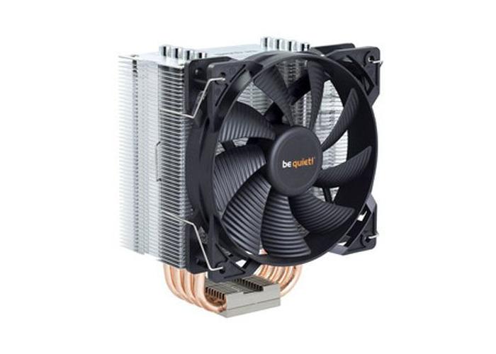 Be Quiet! BK009 Pure Rock Heatsink & Fan, Intel & AMD Sockets, 12cm PWM Fan - 1