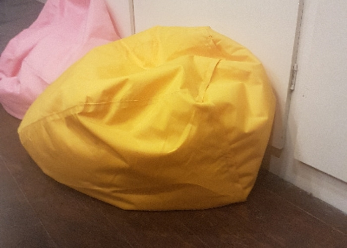 Miraculous Rent Bean Bag Yellow In Sittingbourne Short Links Chair Design For Home Short Linksinfo