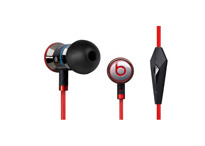 Beats by Dr Dre iBeats In-Ear Headphones from Monster - Black - 1