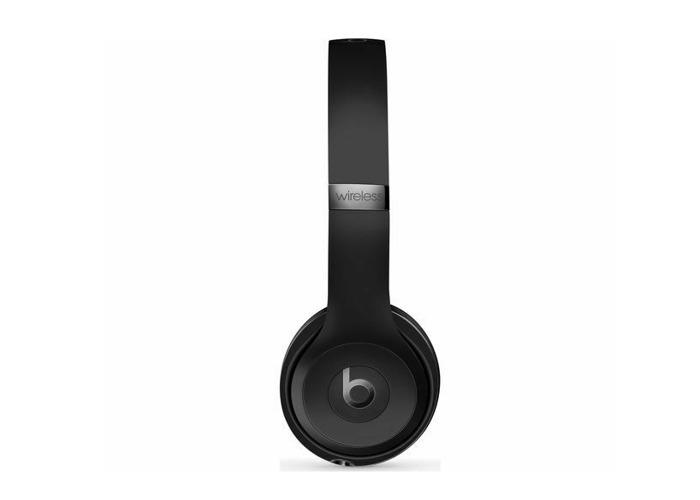 Beats by Dr. Dre Solo 3 Wireless Headband Headphones Black - 1