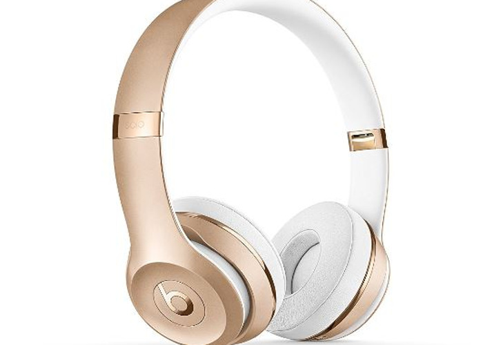 Beats by Dr. Dre Solo3 Wireless On-Ear Headphones - Gold  - 2