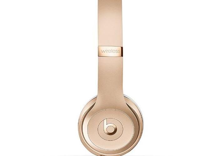 Beats by Dr. Dre Solo3 Wireless On-Ear Headphones - Gold  - 1
