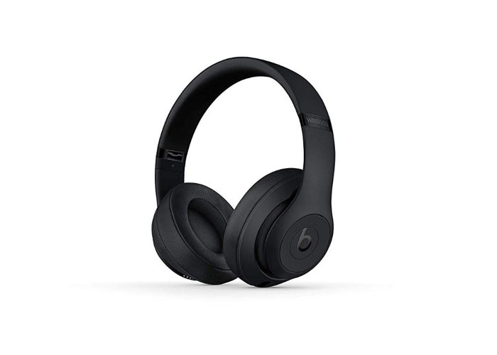 Beats Studio 3 Wireless Bluetooth Noise-Cancelling Headphones - Matte Black - 1