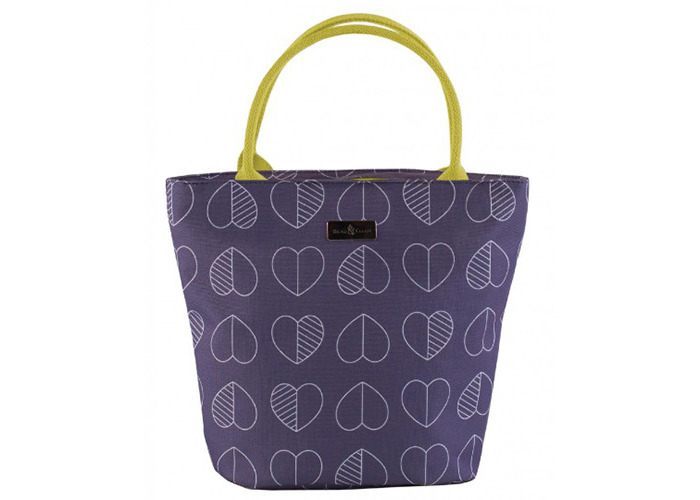 Beau & Ellliot Insulated Lunch Tote Bag, Confetti Outline Midnight - 1