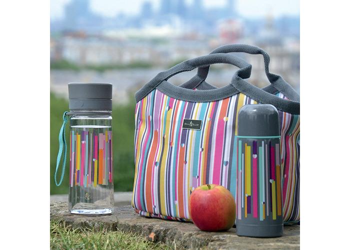 Beau & Ellliot Insulated Vacuum Flask, Grey Linear - 2