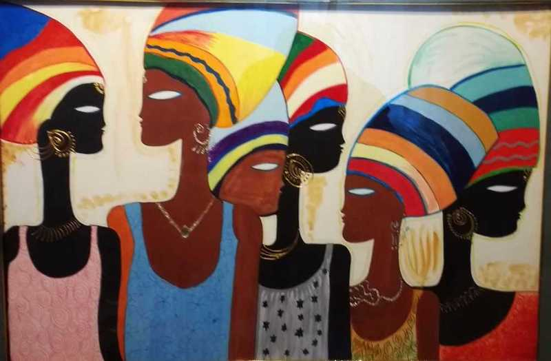 beautiful african ladies - 1