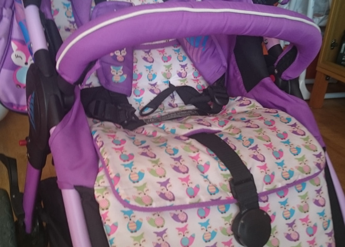 Beautiful and comfortable pushchair - 2