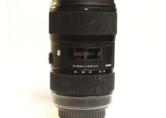 Beautiful Sigma Art Lens 18-35 Canon - 1