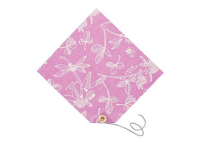 Bee's Wrap Single Sandwich Wrap, 33 x 33 cm/13 x 13 inch, Purple - 1
