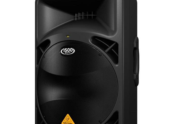 2x Behringer B615D Active PA Speakers - 1