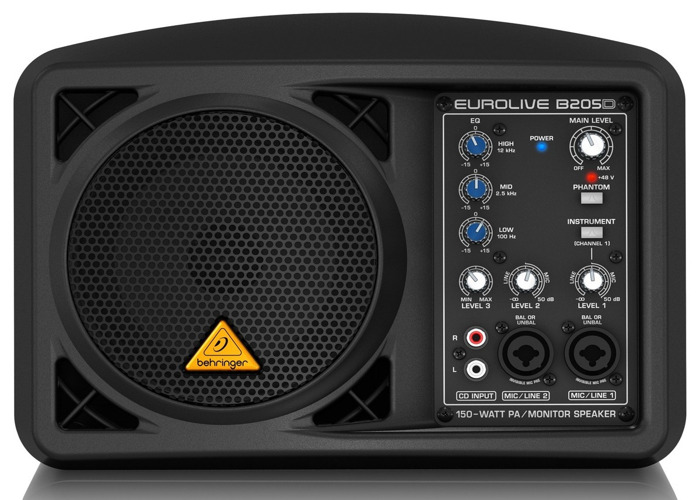 Behringer Eurolive B205D Active 150W PA/Monitor - 1