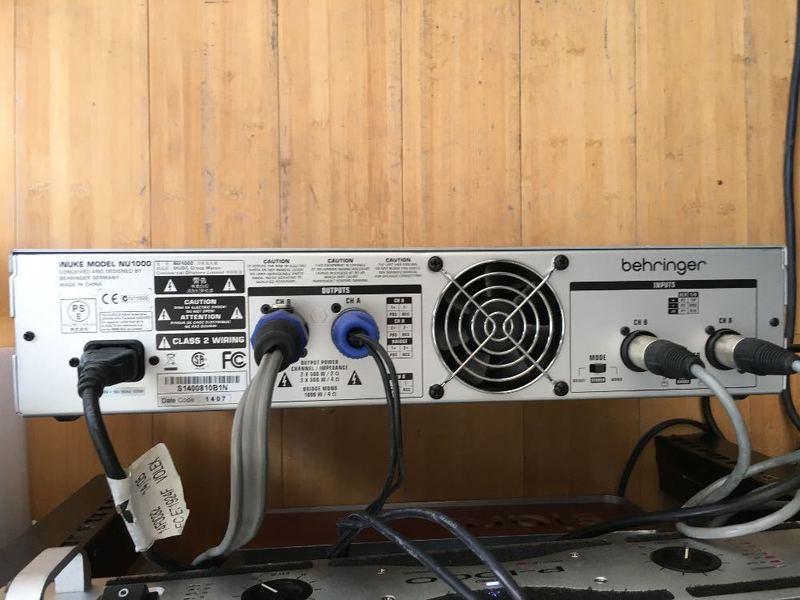 Behringer iNuke 1000 Amplifier (delivered zone 1-3 london) - 2