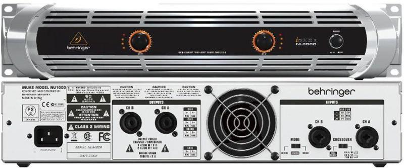 Behringer iNuke 1000 Amplifier (delivered zone 1-3 london) - 1