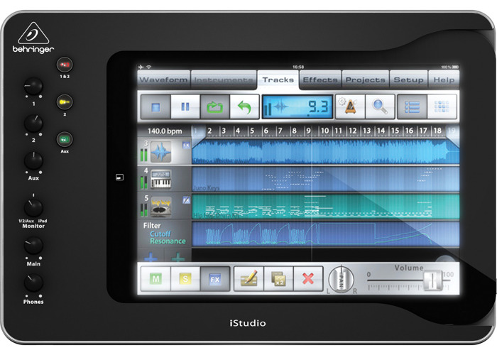 Behringer iStudio iS202 iPad Mixer Dock - 1