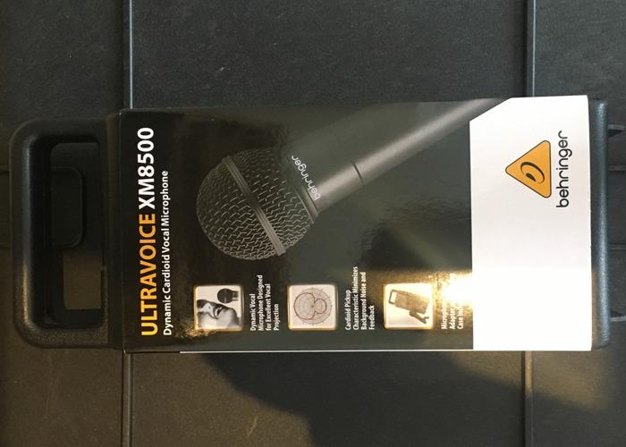 Behringer Ultravoice XM8500 microphone - 1