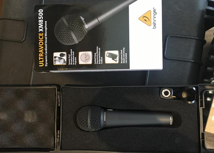 Behringer Ultravoice XM8500 microphone - 2
