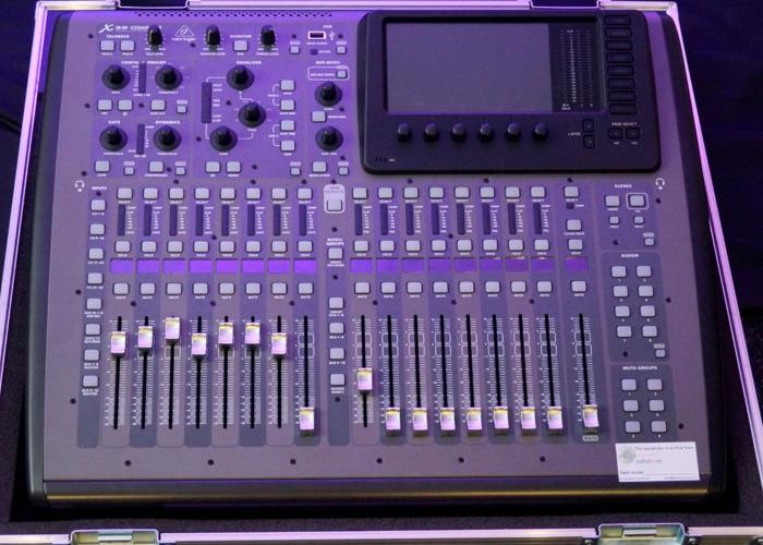 Behringer X32 Compact Digital Mixing Desk - 1