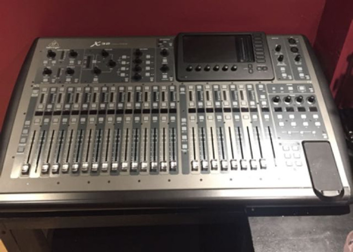 Behringer X32 digital mixing desk - 1