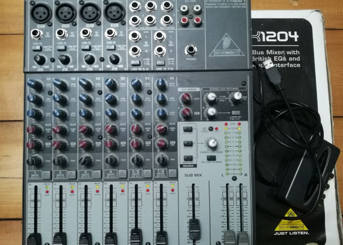 BEHRINGER XENYX 1204FX DRIVERS