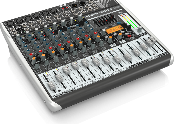 Rent Behringer XENYX QX1222USB 8 Channel Mixer in London