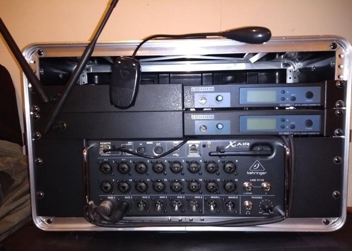 XR18 mixer bundle 1 - 1