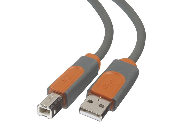 Belkin 3m USB A to USB B Cable - 1