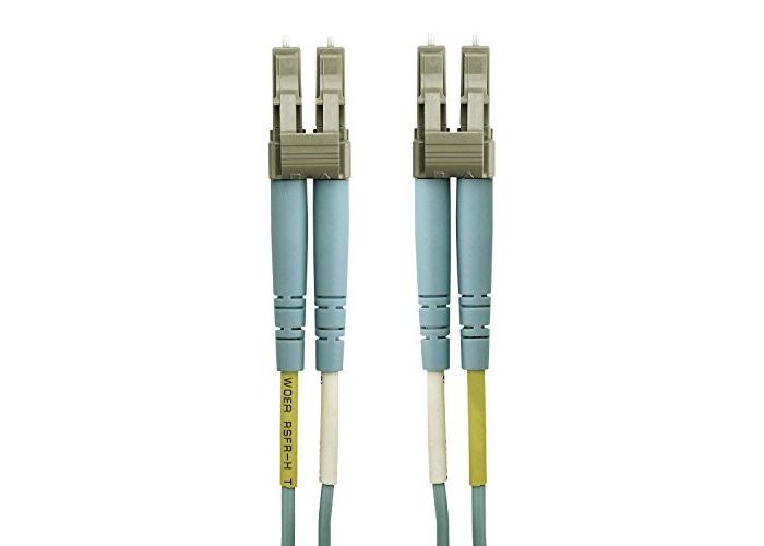 Belkin (5m) Cable Fiber LC/LC Lo Multimode 50/125 OM4 (Aqua) - 1