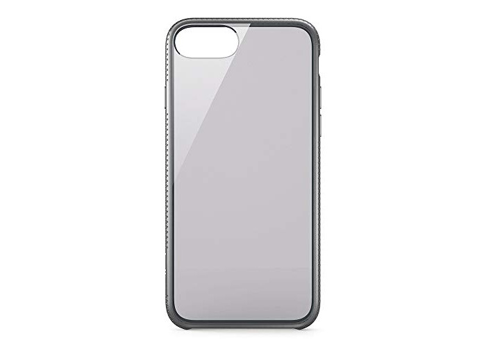 Belkin Air Protect SheerForce Drop and UV Protection Case with Push + Click Buttons for iPhone 7 Plus - Space Grey - 1