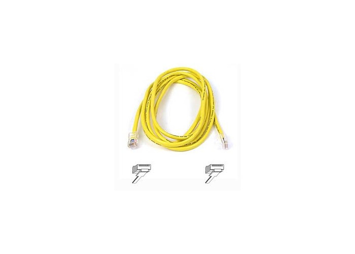 Belkin Cat6 Snagless UTP Patch Cable (Yellow) 15m - 1